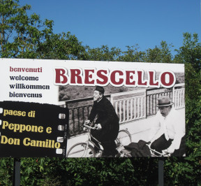 cartello Brescello